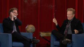 Conan Seth Rogen smoking