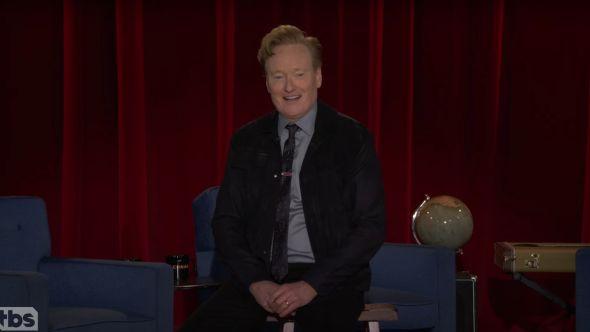 Conan final episode late night tbs speech jack black the simpsons