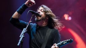 Foo Fighters Andy Pollard tribute dedicate Madison Square Garden show concert live Foo Fighters, photo by David Brendan Hall