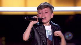 Jesús del Río on The Voice Kids Spain Bruno Mars