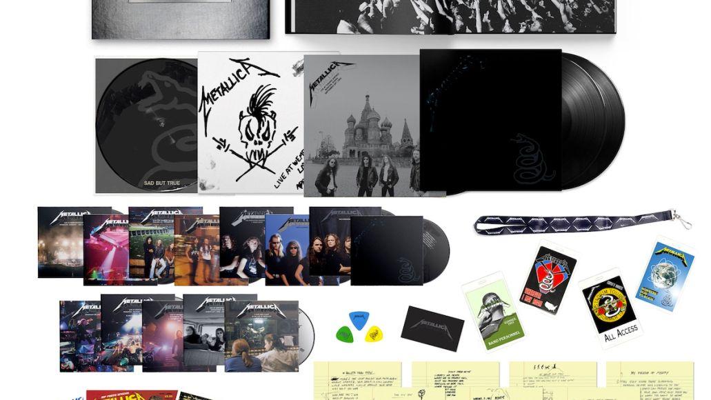 Metallica Deluxe Box Set Black Album Contents