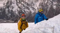 Mike Posner Mount Everest summit climb 2021 celebrities Mike Posner, photo courtesy of the artist