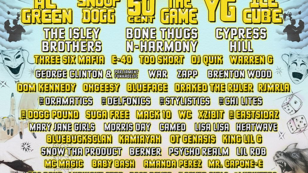 ice cube, 50 cent, al green to headline once upon a time in la festival