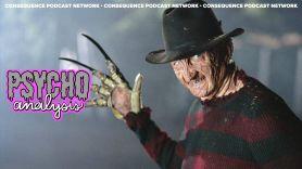 PsychoAnalysis podcast comfort horror nightmare on elm street