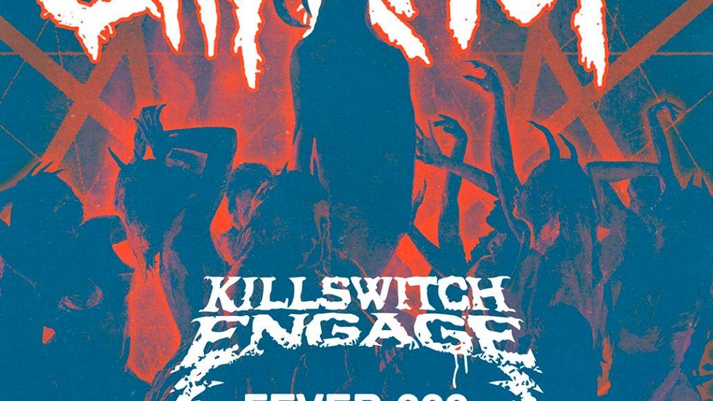 Slipknot 2021 Knotfest Roadshow Poster