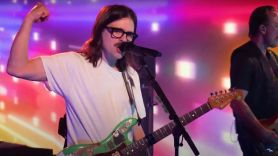 Weezer I Need Some of That Seth Meyers van weezer late night watch stream
