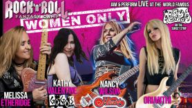 Women Only Rock Fantasy Camp
