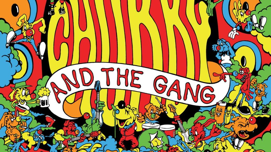 chubby and the gang the mutts nuts new album artwork