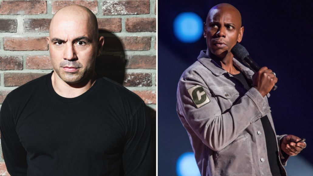 dave chappelle joe rogan co-headlining arena shows concerts stand up comedy