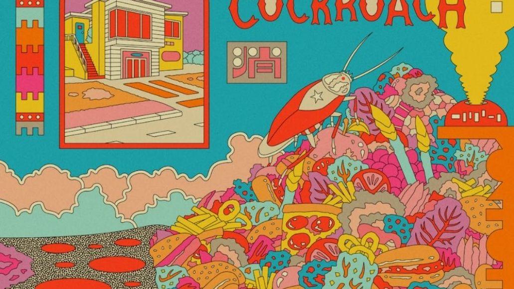 deap vally american cockroach ep cover art