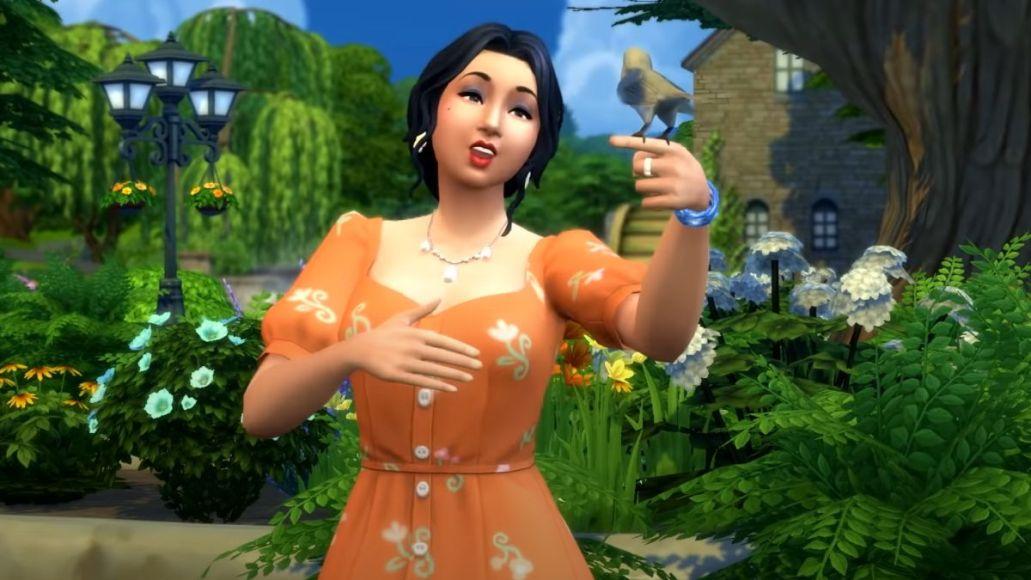 japanese breakfast be sweet simlish stream The Sims 4 Cottage Living trailer