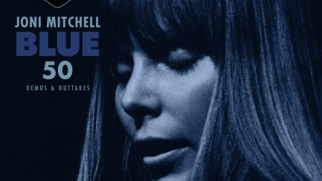 joni mitchell blue 50 EP demos and outtakes album artwork cover art stream