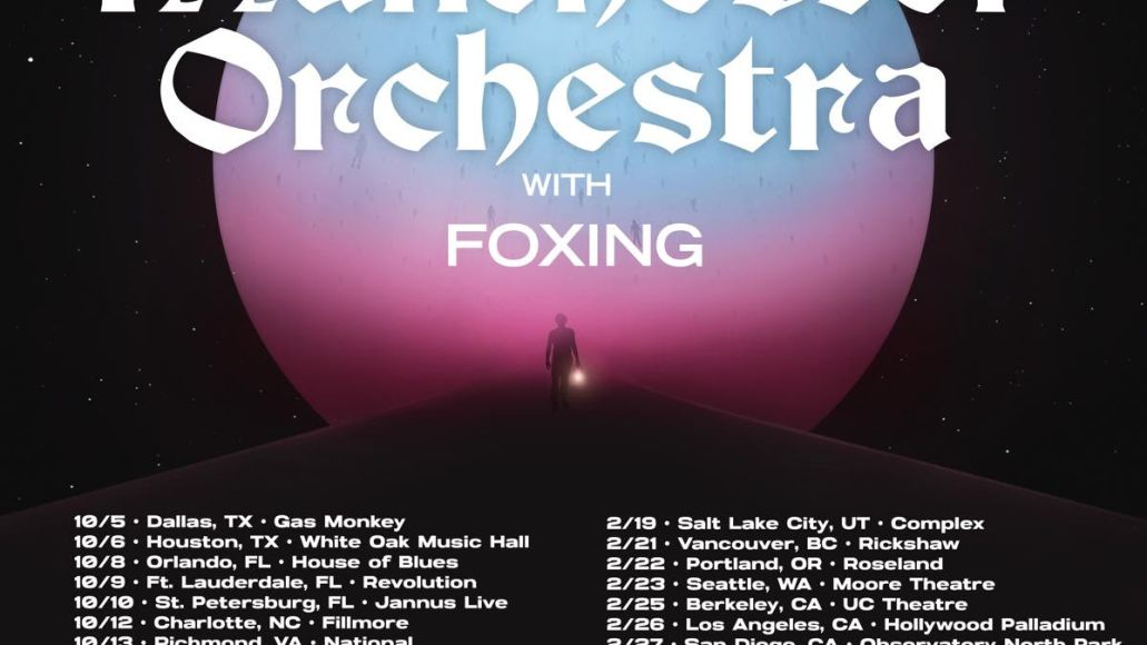 manchester orchestra tour poster Manchester Orchestra Announce 2021 2022 North American Tour