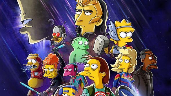 marvel simpsons disney plus The Good, The Bart, and The Loki