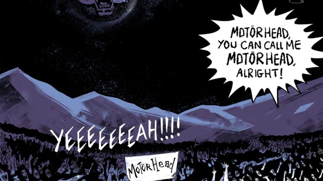 motorhead the rise of the loudest band in the world 9781970047158.in03 Motörhead Officially Authorized Graphic Novel to Arrive in September