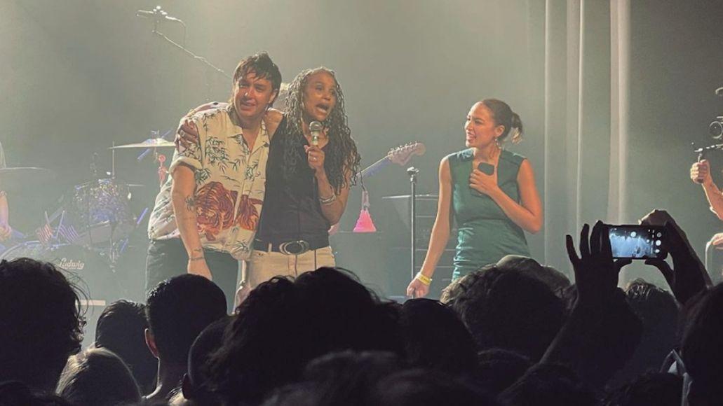 the strokes maya wiley irving plaza new york concert dev hynes blood orange alexandra ocasio cortez john mulaney
