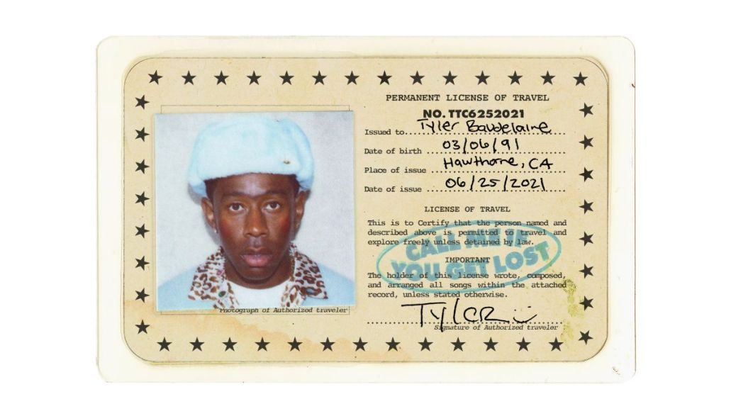 tyler the creator call me if you get lost new album stream artwork