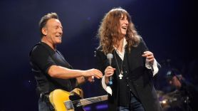 Bruce Springsteen with Patti Smith