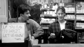Clerks 3 Lionsgate cast members sequel iii film Kevin Smith new movie Clerks, photo via Miramax Films