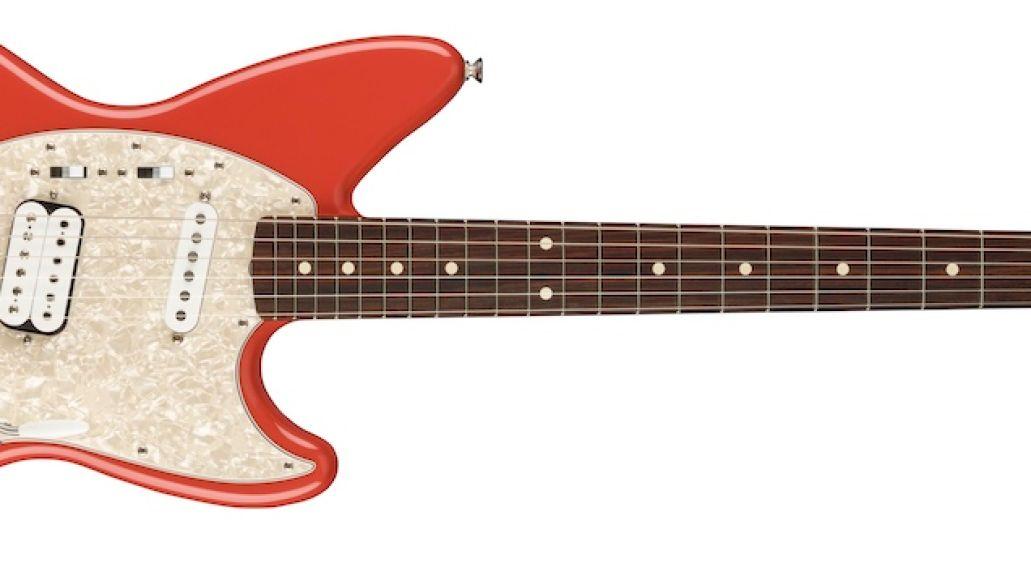 Kurt Cobain Fender Jag-Stang Red