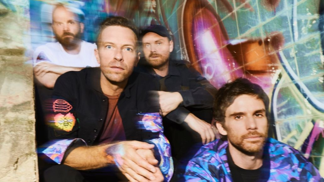 Coldplay Music of the Spheres new album record LP full-length single Coloratura Coldplay, photo by James Marcus Haney