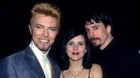 Dave Grohl, Louise Post, and David Bowie
