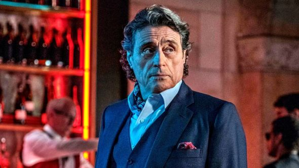 Ian McShane John Wick 4 new movie chapter film cast actor hotel guy, photo courtesy of Lionsgate