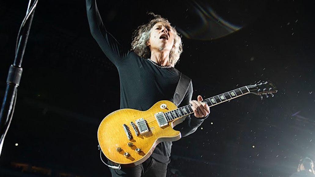 Metallica's Kirk Hammett Gibson Guitars