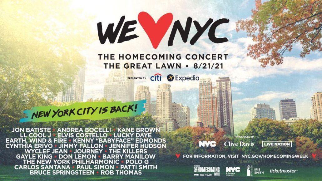 NYC Homecoming Concert