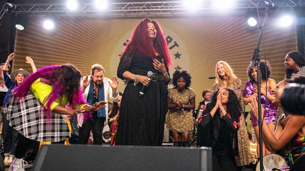 Newport Folk Festival Folk On 2021-1 chaka khan et al bow