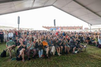 Newport Folk Festival Folk On Weekend, photo by Ben Kaye