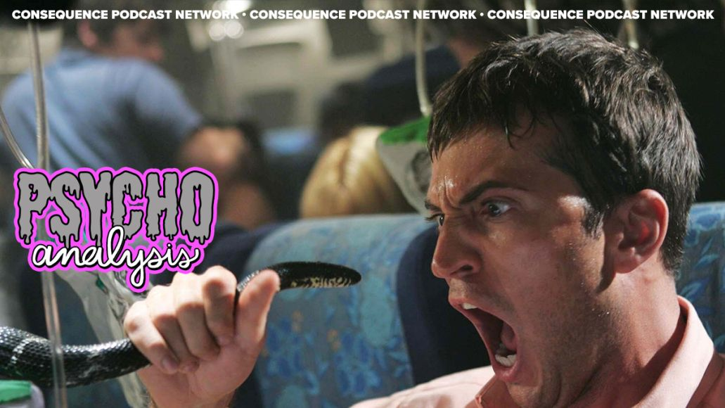 PsychoAnalysis snakes on plane
