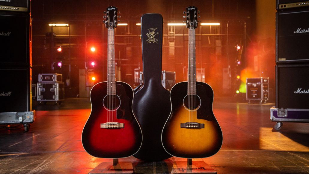 Slash Epi Collection Acoustics copy Slash and Epiphone Launch New Collection of Electric and Acoustic Guitars