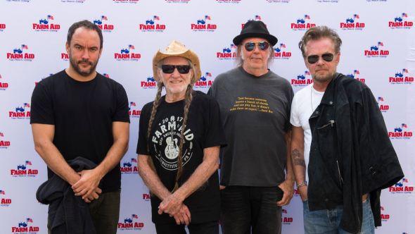 Willie Nelson, Dave Matthews, Neil Young, John Mellencamp
