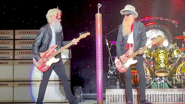 ZZ Top first show since Dusty Hill death