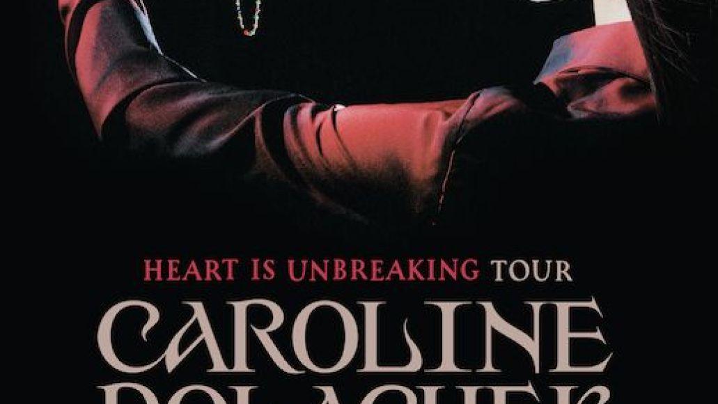 caroline polachek 2021 tour dates poster