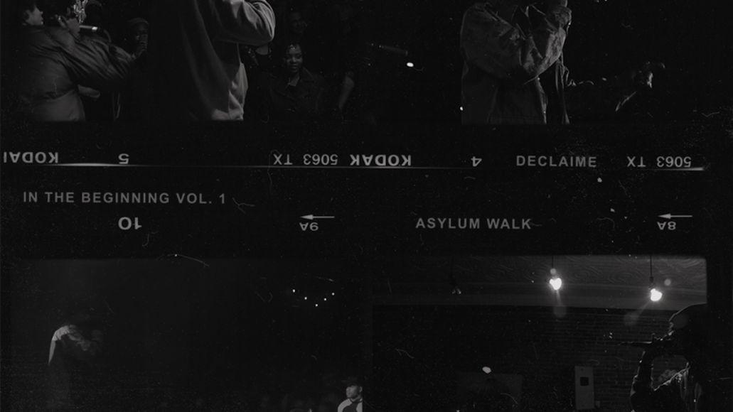 declaime madlib track by track in the beginning vol 1 album stream artwork