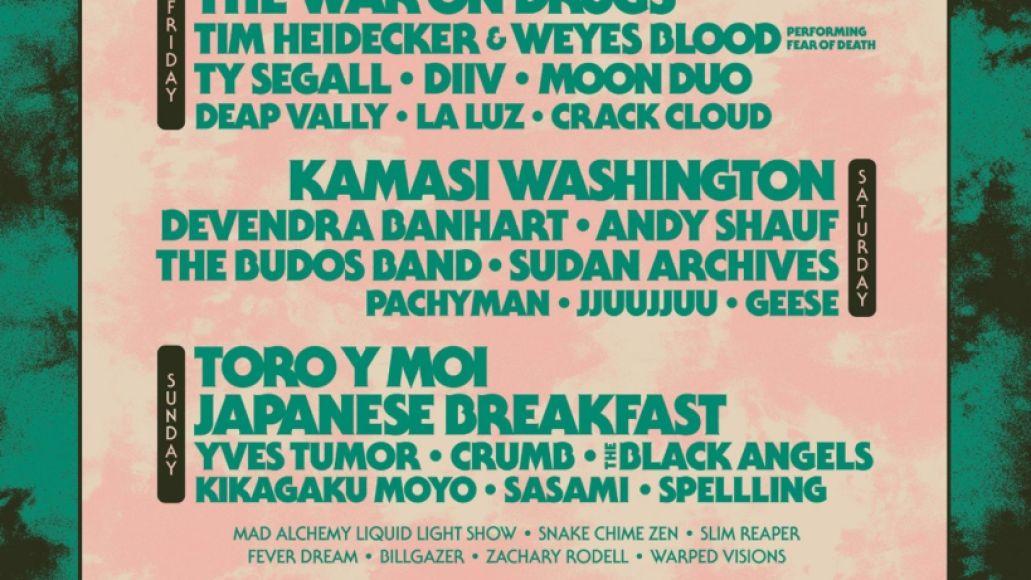 desert daze 2021 lineup toro y moi the war on drugs kamasi washington