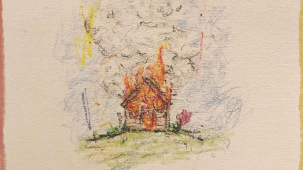 isaiah rashad the house is burning announcement cover art