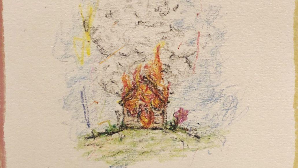 isaiah rashad the house is burning new album stream artwork