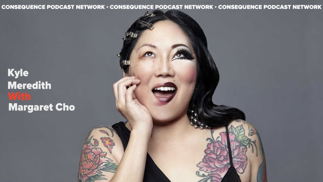 kyle meredith with Margaret Cho podcast interview good on paper
