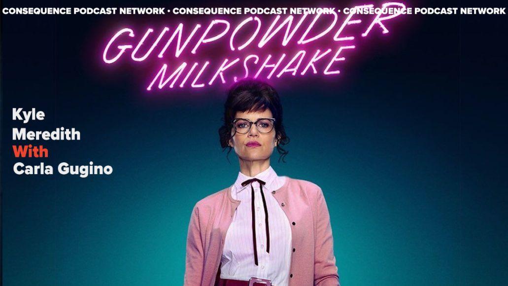 kyle meredith with carla gugino gunpowder milkshake