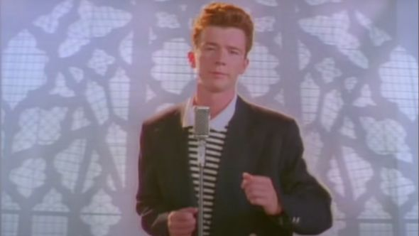 rick astley never gonna give you up one billion views youtube