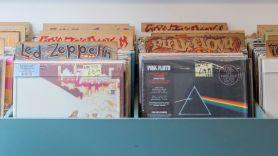 rock music vinyl