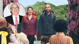 schmigadoon cecily strong Barry Sonnenfeld apple tv plius interview musical series