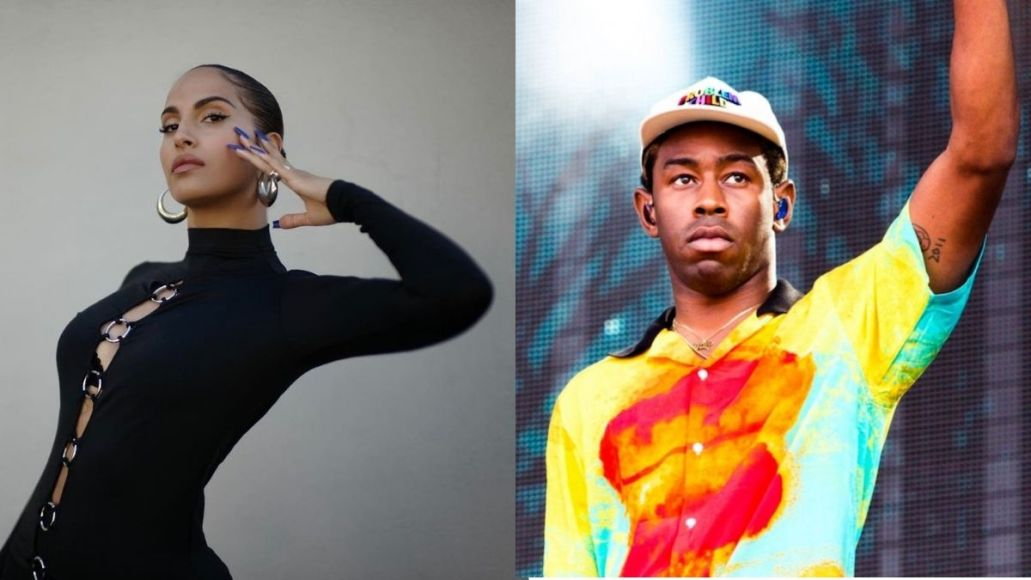 snoh aalegra tyler the creator collab neon peach in the moment stream