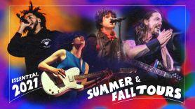 Concert Tours 2021