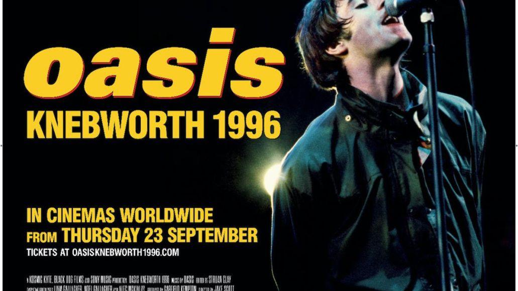 oasis announce documentary oasis knebworth 1996