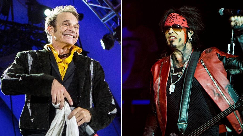 David Lee Roth not open for Motley Crue