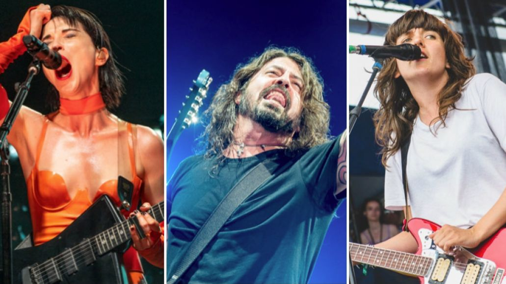 Foo Fighters St Vincent Courtney Barnett